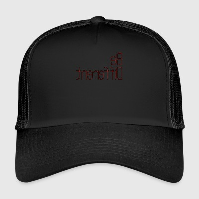 Be_different - Trucker Cap