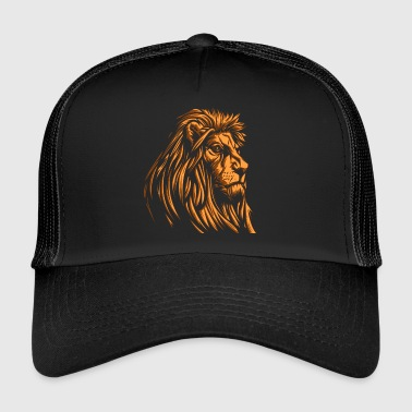 vieil or lion sage - Trucker Cap