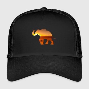 elephant walk - Trucker Cap