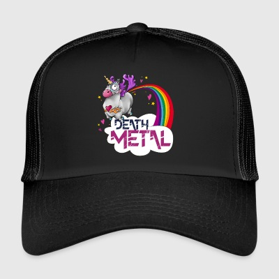 Death Metal Unicorn - Trucker Cap