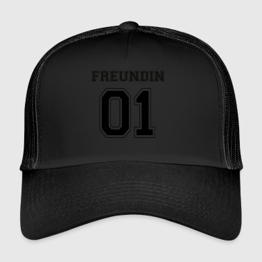 Vriendin - Black Edition - Trucker Cap