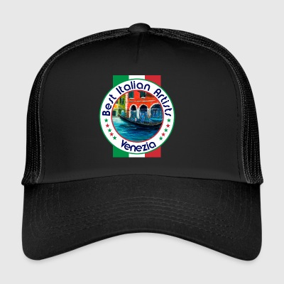 Best Italian Artists Venezia, Venedig Red House - Trucker Cap