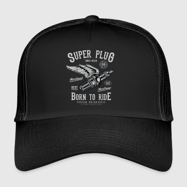 SuperPlug2 - Trucker Cap