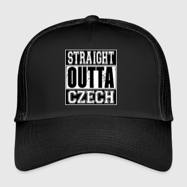 Straight Outta Czech 001 AllroundDesigns - Trucker Cap