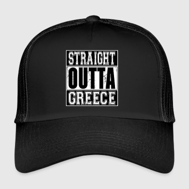 Straight Outta Greece 001 AllroundDesigns - Trucker Cap