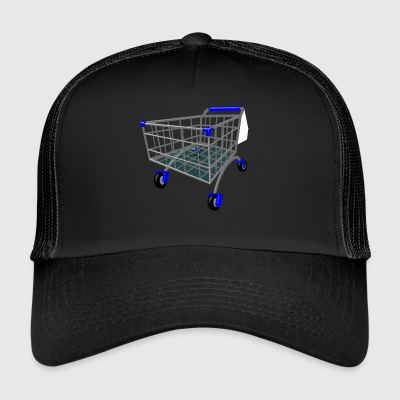 shopping cart - Trucker Cap