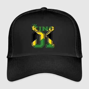 country partner king 01 prince Jamaica - Trucker Cap