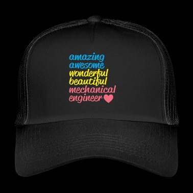 AMAZING AWESOME - Trucker Cap