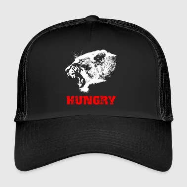 Lion - hungry - Trucker Cap