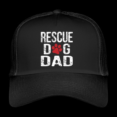 Rescue Dog Dad - Trucker Cap