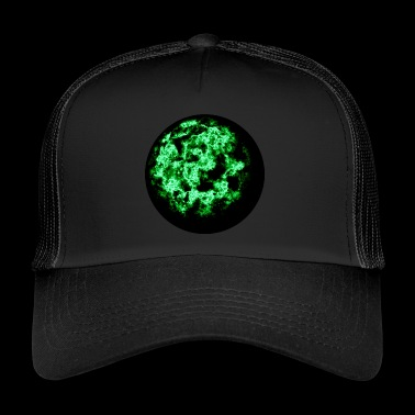 Green fireball - Trucker Cap