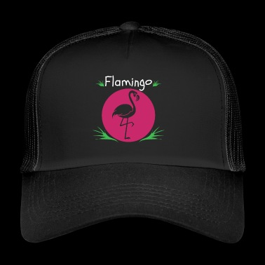 Flamingos Flamingo cadeau drôle t-shirt - Trucker Cap