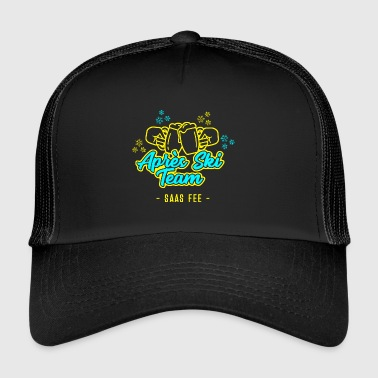 Apres Ski Team Saas Fairy JGA Party Hut T-Shirt - Trucker Cap