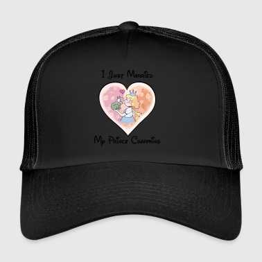 Just Married My Prince Charming - Trucker Cap