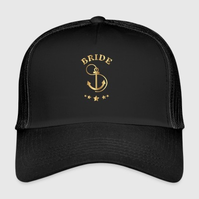 Bride Anchor Entwurf - Trucker Cap