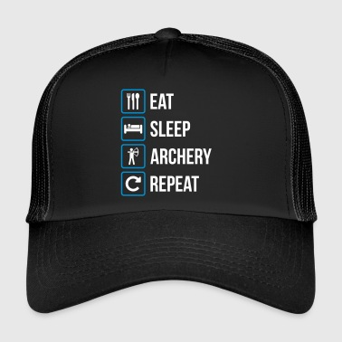 Eat Sleep Archery Repeat - Trucker Cap