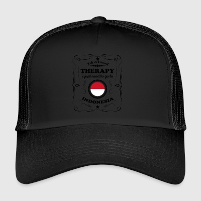 DON T bisogno di terapia GO INDONESIA - Trucker Cap
