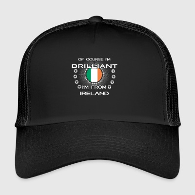 I AM GENIUS CLEVER BRILLIANT IRELAND - Trucker Cap