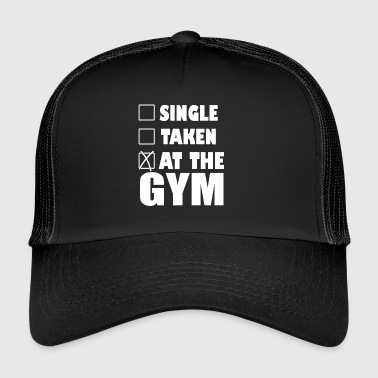 På gym - Trucker Cap