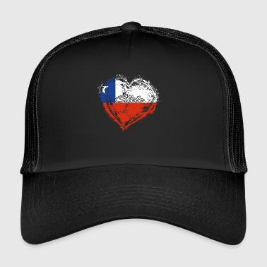 HOME COUNTRY ROOTS GIFT LOVE Chile - Trucker Cap