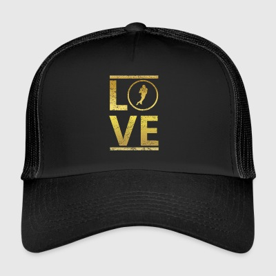 love calling profi king meister football touchdown - Trucker Cap