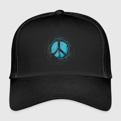 Global Peace Peace Sign War Peace Sign - Trucker Cap