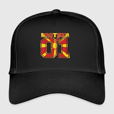brother brother brother 01 partner Macedonia - Trucker Cap