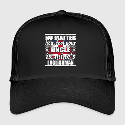 no matter cool uncle uncle gift England png - Trucker Cap