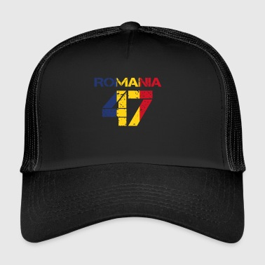 Fussball verein team party em wm ROMANIA 47 - Trucker Cap