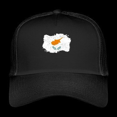 Roots roots flag homeland country Cyprus png - Trucker Cap