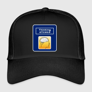 Thinking Allowed - Trucker Cap