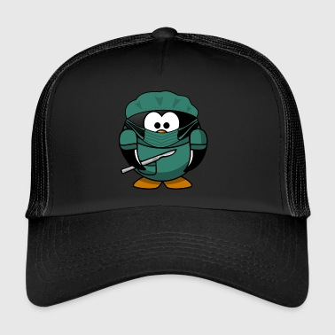 Penguin surgeon - Trucker Cap