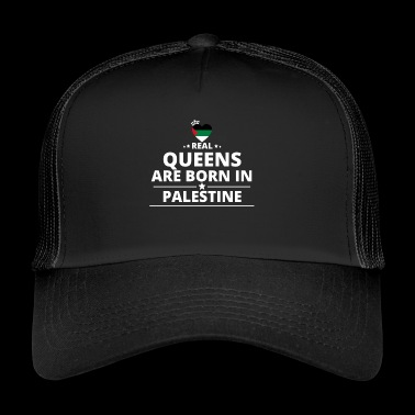 queens from geschenk i love PALESTINE PALESTINA - Trucker Cap