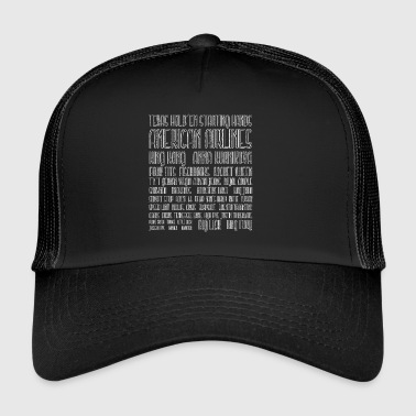 Texas Holdem Starting Hands - Trucker Cap
