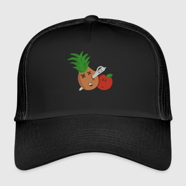 Pen Pineapple Apple Pen - Trucker Cap