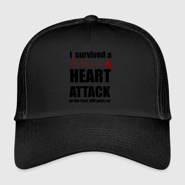 Heart attack - Trucker Cap
