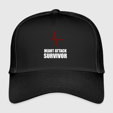 Heart Attack Survivor - Trucker Cap