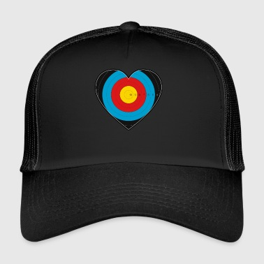 Heart Archery - I love archery - Trucker Cap