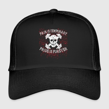 Pain temporary FITNESS shred bodybuilding - Trucker Cap