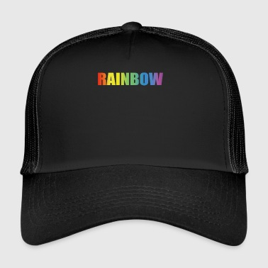 Rainbow - Trucker Cap