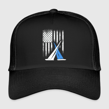Sailing match-race team cup americas cup sail yacht - Trucker Cap