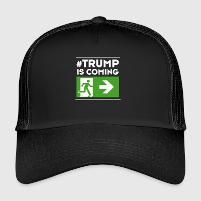 trump anti Demo Humor weg # usa Ausweg Chance poli - Trucker Cap