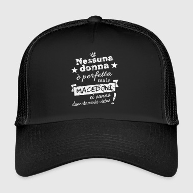 DonnaMacedoni - Trucker Cap