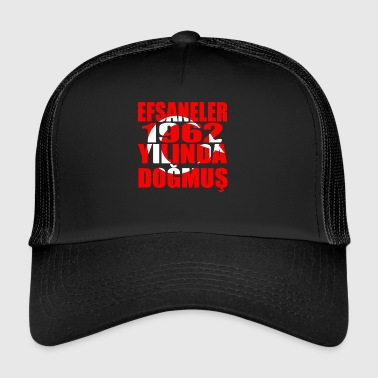 Tuerkiye Turkey legends born 1962 - Trucker Cap