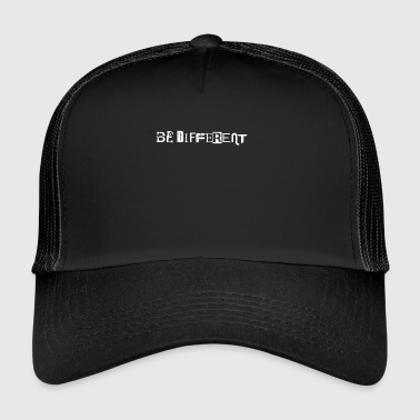Be different other anders verschieden - Trucker Cap