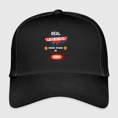 real legends comic born in 1989 - Trucker Cap