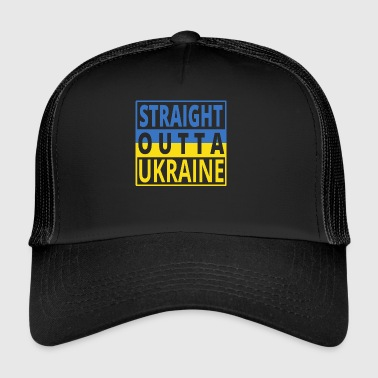 Straight Outta UKRAINA png - Trucker Cap