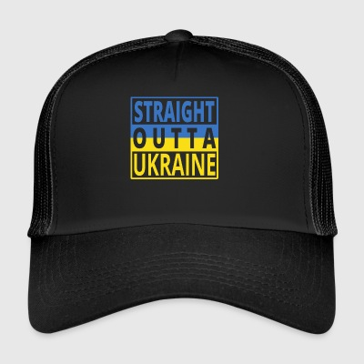 Straight outta UKRAINE png - Trucker Cap