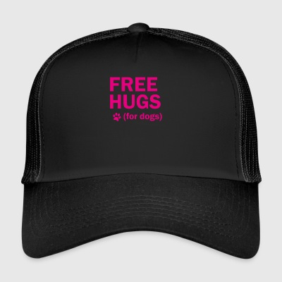 Free hugs for dogs - Trucker Cap