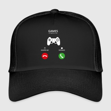 Ring mobilen samtal gaming gamer - Trucker Cap